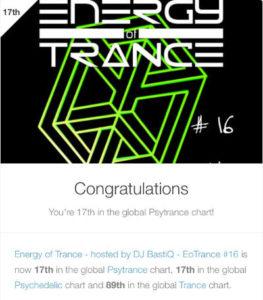 EoTrance Episode 16 - 17th Global Psytrance Chart